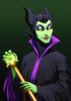 Disney Villains - Maleficent by Bhansith