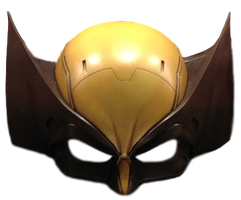 Wolverine Movie Mask - Transparent Background! by Camo-Flauge