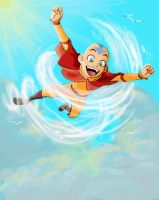 Super Aang by metal-ostrich