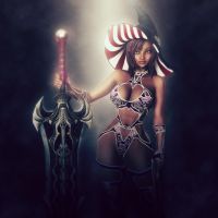 Polynesian Blade Witch - Soft Focus 2 by ambient-avalancher