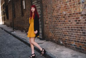 Yellow Dress by SusanCoffey