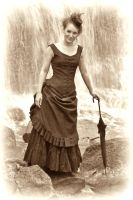 Waterfall Bustle By Lill Sara by VictorianSpectre
