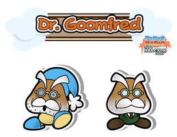 Dr. Goomfred - The Nuthouse Shrink by The-PaperNES-Guy