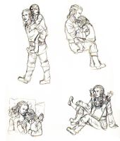 The hobbit- Little Durins by westofnowhere