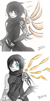 Art Improvement: Existence by ShiroGinko
