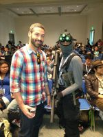 Sam Fisher meets Maxime Beland by W4RH0US3