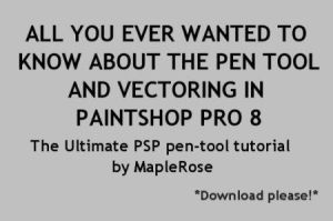 The Ultimate PSP Pen Tool Tut by MapleRose