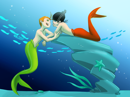 KevEdd_Mermen by aulauly7
