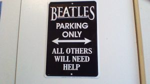 Beatles Parking Only by vampire8462