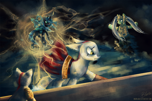 COMM: God of War meets MLP by MadBlackie