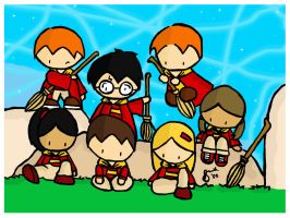 Gryffindor Team Wallpaper by gryffindor