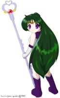 Sailor Pluto by lamingtonqueen