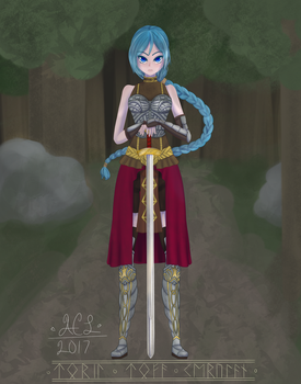 Lady with a Sword v.2 by MioMochi
