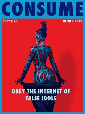 THEY LIVE - Kim Kardashian CONSUME by HalHefnerART