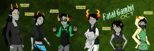 FGOCT: Green Competitors by TuliothePillbug