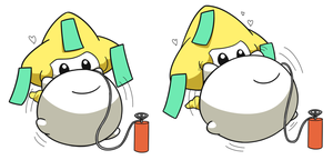Jirachi Inflation 4 by selphy6