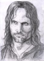 Oh look it's Aragorn by TheGreatandMightyOz