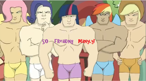 Oh So Manly by heathfiedler