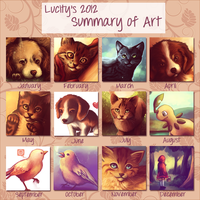 Summary of Art 2012 by lucity
