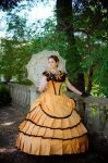 ball gown by Korff