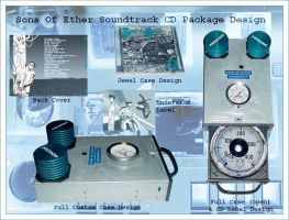 Sons Of Ether Soundtrack Case by mage-club