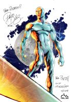 Paco Diaz + RBL Silver Surfer by rbl3d