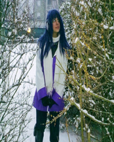 Hinata on the Snow by xenya-cullen