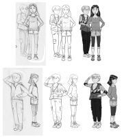 character sketches 1 by Dannayy