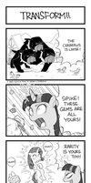 MLP 4koma Page 5: Transform!! by hydrowing