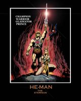 He-man Conan movie poster by Toe-Knee-Bee-Ears