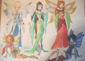 Winx Club - Earth Fairies by holhez21