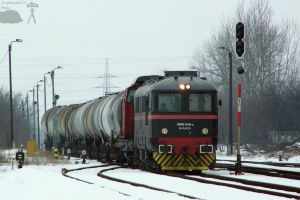 Freight train with Floyd locos in Gyorszabadhegy by morpheus880223