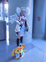 Wondercon 2015 - Melia Antiqua (5) by MidnightLiger0