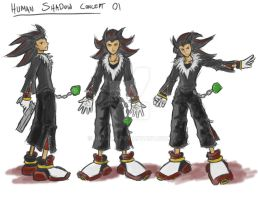 Shadow Human Concept by arvalis