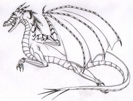 Dragon by illuminatus-shadow