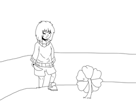 Flowey And Chara - Animation - BEtter TeST by Lust-Fell-Sans