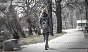 And She Just Walked Away by piximi