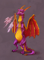 Spyro by WhitestKid