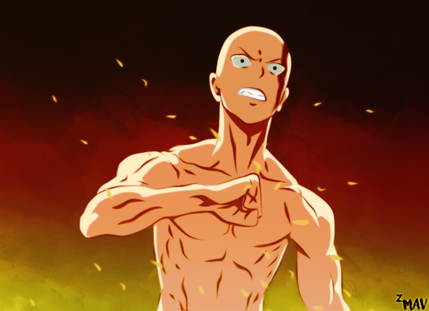 |One Punch Man| The Strongest by OwiSai