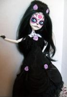 Monster High Custom Catrine Day of the dead 2 by AdeCiroDesigns