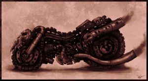 T-Motorcycle by artofjosevega