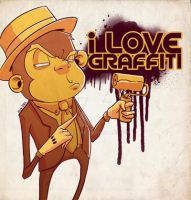 i love graffiti 2 by thezork