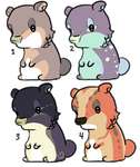(3/4 OPEN) Hamster Adopts by ImaLittleAdopts