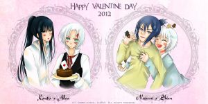 Happy Valentine Day 2012 by Zenmaijikake