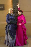 Mary and Irene - Sherlock Holmes by andreamlopez