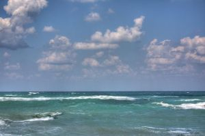 Sea and clouds HDR by hephahistos
