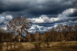 Storm approaching by lichtschrijver