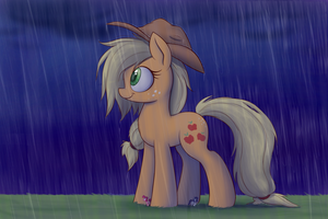 Shelter from the Downpour by Heir-of-Rick