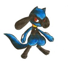 Riolu by 4RT1F4CT