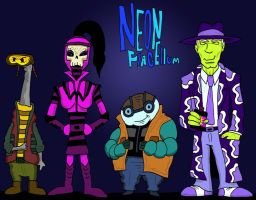 Neon's Crew by Lordwormm